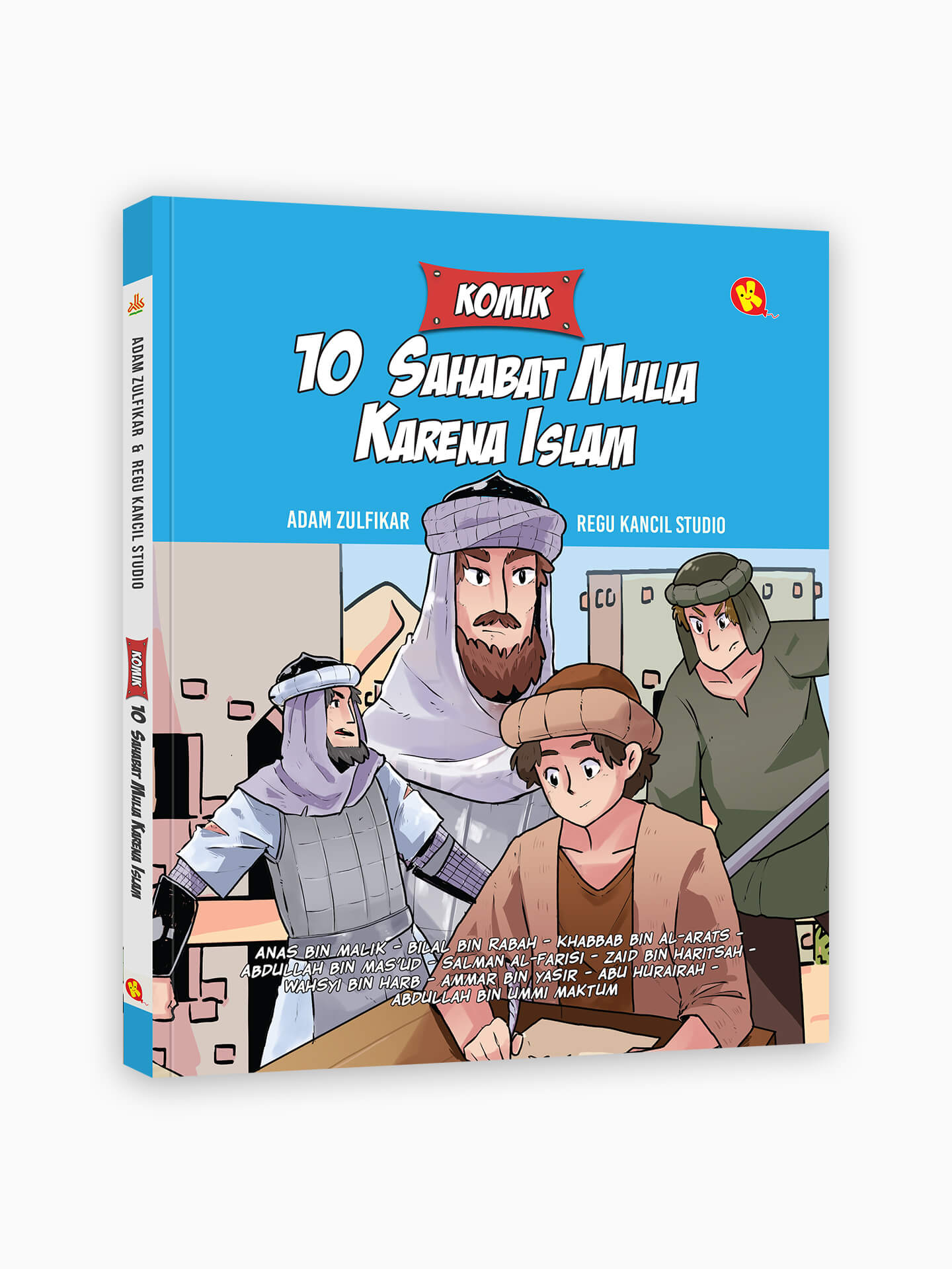 Komik 10 Sahabat Mulia Karena Islam