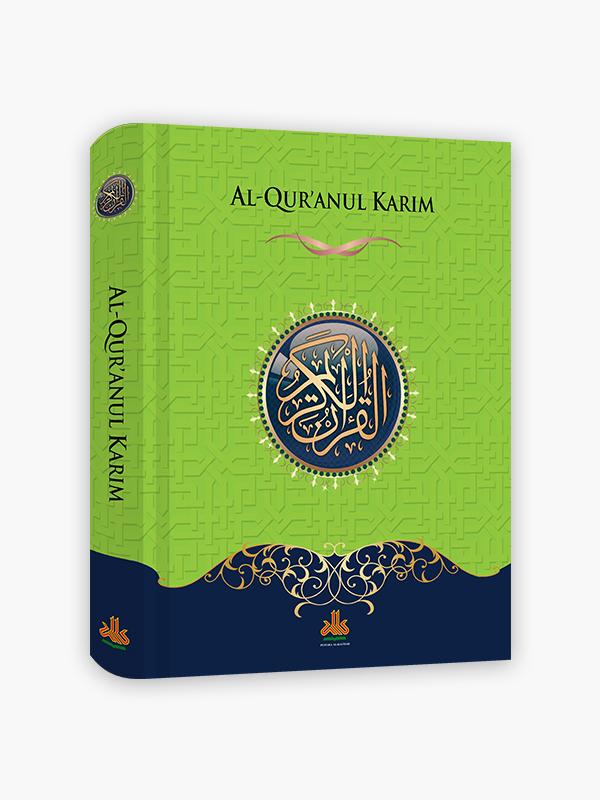 Al-Qur'an Non-terjemah Ekonomis A4 - Hijau