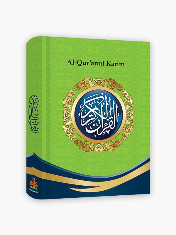 Al-Qur'an Non-terjemah Ekonomis A5 - Hijau
