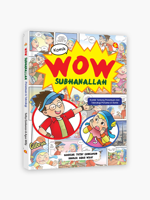 Komik Wow Subhanallah : Penemuan & Teknologi Pertama di Dunia