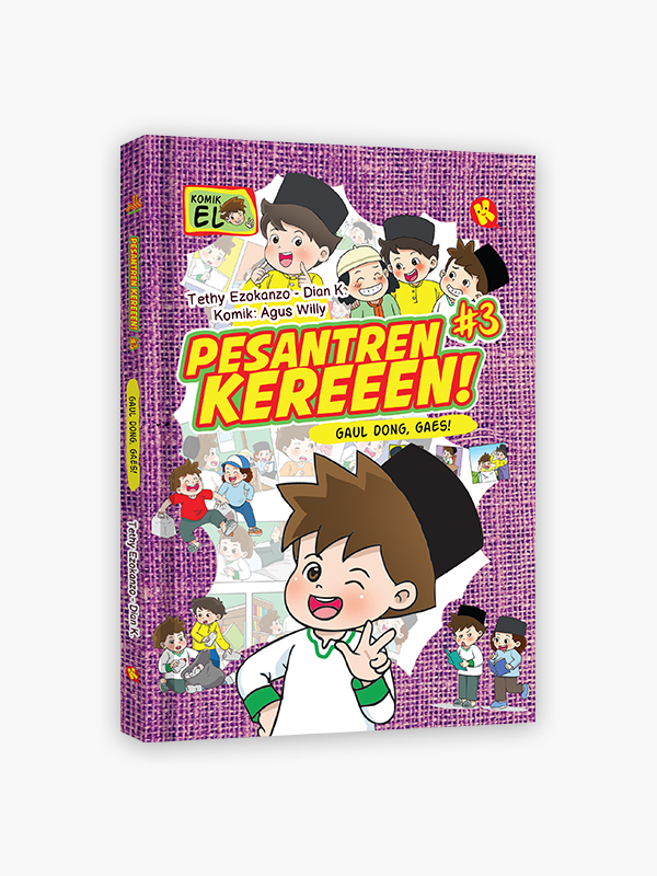 Komik Pesantren Kereeen #3 : Gaul Dong, Gaes!